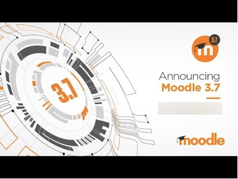 Picture of the Moodle 3.7 Logo